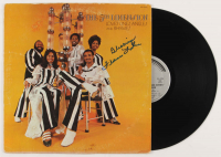 """Florence LaRue Signed """"Love's Lines, Angles and Rhymes"""" Vinyl Record Album Cover Inscribed """"Blessings"""" (JSA COA)"""