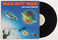 """Don Was Signed """"Born to Laugh at Tornadoes"""" Vinyl Record Album Cover (JSA COA)"""