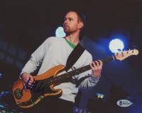 Nate Mendel Signed 8x10 Photo (Beckett COA)