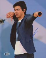 Joe Jonas Signed 8x10 Photo (Beckett COA)