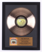 "The Beatles 16x19.5 Custom Framed Gold Plated ""Magical Mystery Tour"" LP Record Album Award Display"