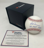 "Pete Alonso Signed OML Baseball Inscribed ""MLB Debut 3/28/19"" (Fanatics Hologram) at PristineAuction.com"
