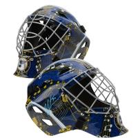 Jordan Binnington Signed Blues Full Size Goalie Mask (Fanatics Hologram) at PristineAuction.com