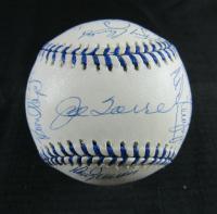 1998 New York Yankees OAL Baseball Signed by (27) with Joe Torre, Homer Bush, Tino Martinez, Jorge Posada, Jeff Nelson, Shane Spencer (JSA LOA)