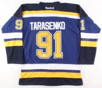 Vladimir Tarasenko Signed St. Louis Blues Jersey (JSA COA)