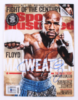 Floyd Mayweather Jr. Signed 2015 Sports Illustrated Magazine (Beckett COA) at PristineAuction.com
