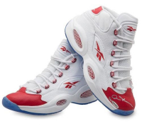 Allen Iverson Signed Limited Edition Reebok Question Mid Shoes (UDA COA) at PristineAuction.com