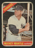 1966 Topps #50 Mickey Mantle at PristineAuction.com
