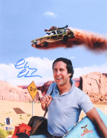 "Chevy Chase Signed ""National Lampoon's Vacation"" 11x14 Photo (Beckett COA) at PristineAuction.com"