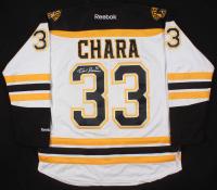 Zdeno Chara Signed Boston Bruins Captain's Jersey (Chara COA) at PristineAuction.com