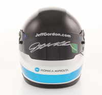 Jeff Gordon Signed NASCAR - 2017 24 Hours of Daytona Win - Exclusive Special Edition 1:3 Scale Mini-Helmet (Gordon Hologram) at PristineAuction.com