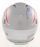 Tom Brady Signed Patriots Full-Size Authentic On-Field Speed Helmet (TriStar Hologram) at PristineAuction.com