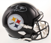 Hines Ward Signed Pittsburgh Steelers Full-Size Speed Helmet (Beckett COA) at PristineAuction.com