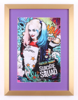"""""""Suicide Squad"""" 16.5x21.5 Custom Framed Movie Poster Display"""