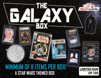 """GALAXY BOX"" a Star Wars Mystery Box! 8 or More Items Per Box!"