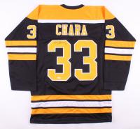 Zdeno Chára Signed Boston Bruins Jersey (JSA COA)