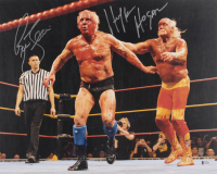 Hulk Hogan & Ric Flair Signed 16x20 Photo (Beckett Hologram)