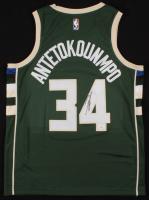 Giannis Antetokounmpo Signed Milwaukee Bucks Jersey (JSA COA) at PristineAuction.com