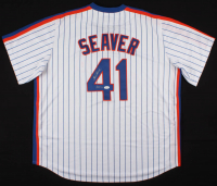 "Tom Seaver Signed New York Mets Jersey Inscribed ""HOF '92"" (JSA COA) at PristineAuction.com"