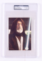 Alec Guinness Signed 4x6 Postcard (PSA Encapsulated)