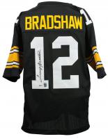 Terry Bradshaw Signed Pittsburgh Steelers Jersey (Beckett COA & Bradshaw Hologram)