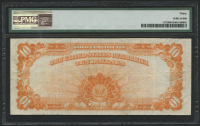 1922 $10 Ten Dollars U.S. Gold Certificate Large Size Bank Note - Large S/N (PMG 30) at PristineAuction.com