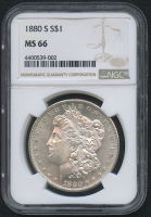 1880-S $1 Morgan Silver Dollar (NGC MS 66)