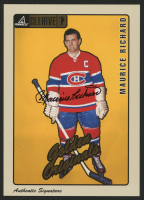 1997-98 Beehive Golden Originals Autographs #61 Maurice Richard