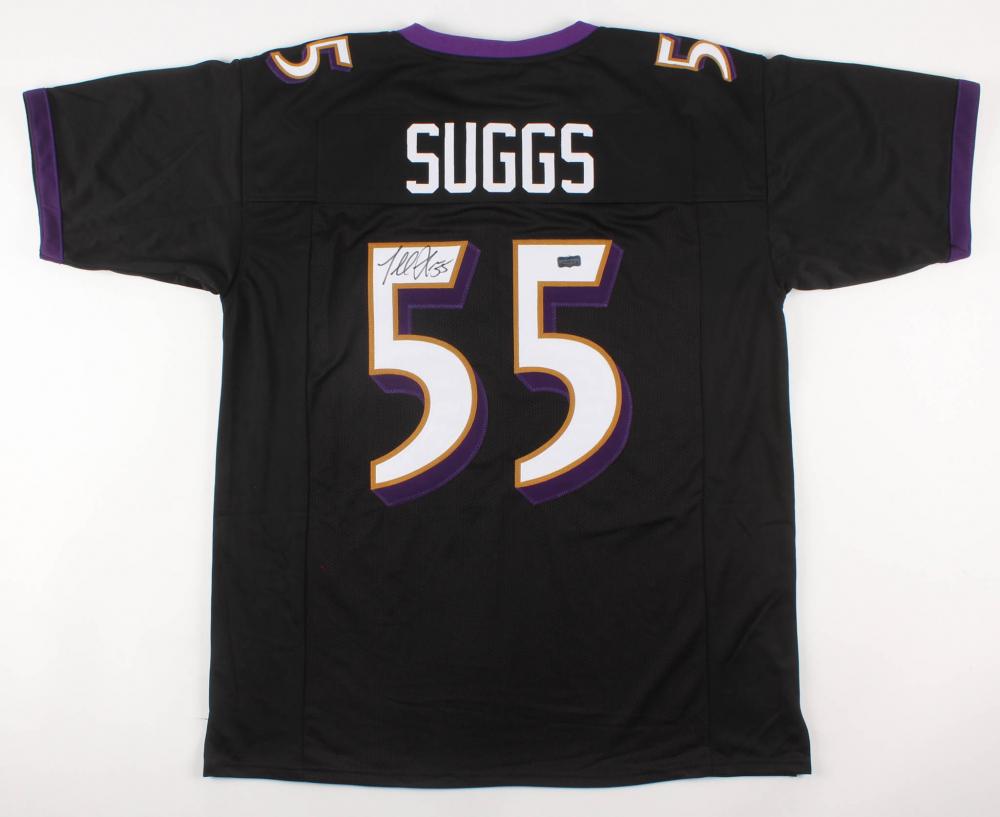 Terrell Suggs Signed Jersey (Radtke COA)   Pristine Auction