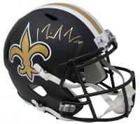 Michael Thomas Signed New Orleans Saints Full-Size Matte Black Speed Helmet (JSA COA) at PristineAuction.com