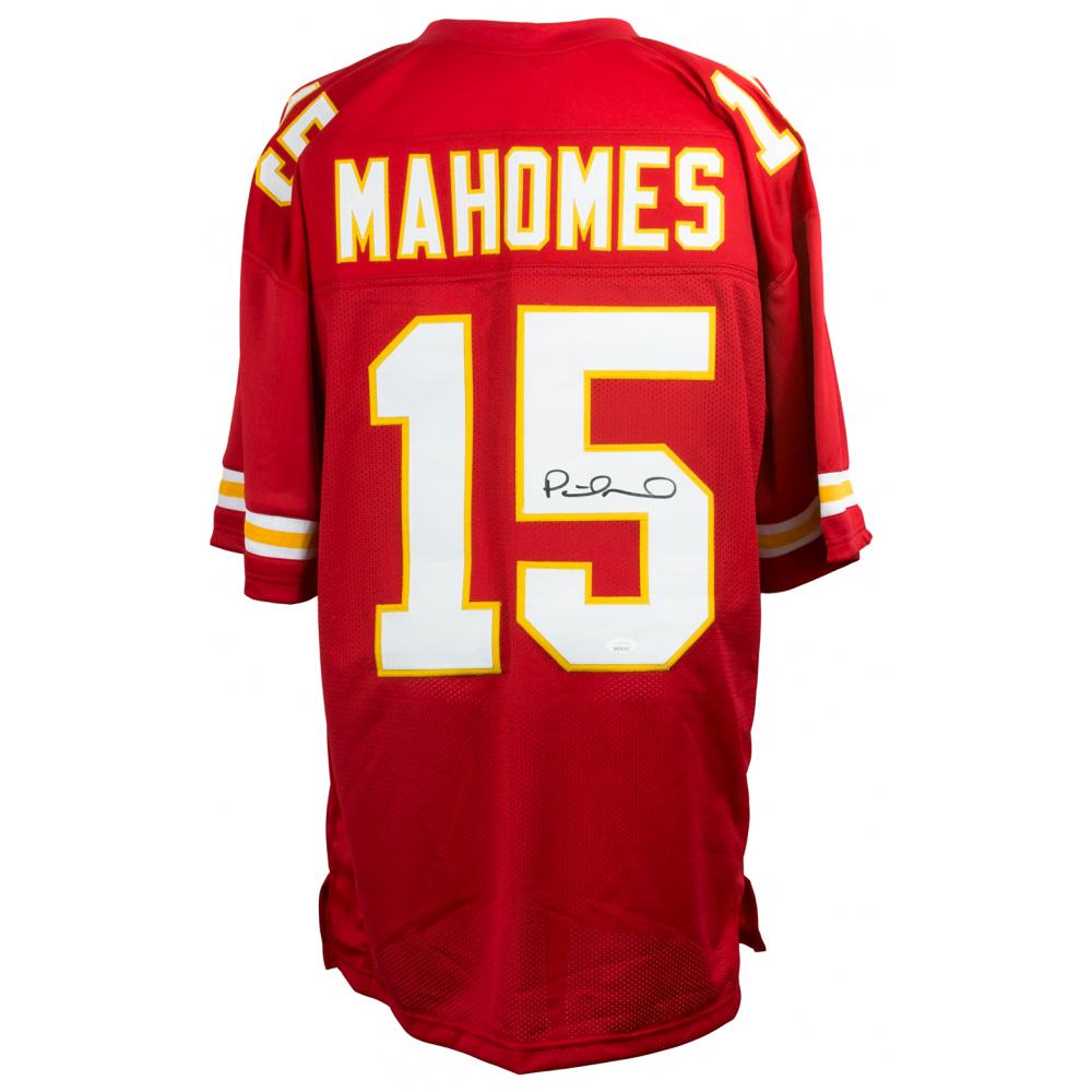 d04cfb14b5093 Patrick Mahomes Signed Kansas City Chiefs Jersey (JSA COA)