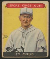1933 Sport Kings #1 Ty Cobb BB at PristineAuction.com