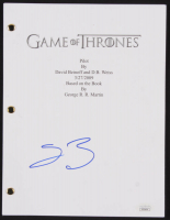 "Sean Bean Signed ""Game of Thrones: Pilot"" Episode Script (JSA COA)"