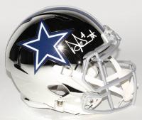 Dak Prescott Signed Dallas Cowboys Full-Size Chrome Speed Helmet (Beckett COA & Prescott Hologram)