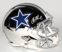 Troy Aikman Signed Cowboys Full-Size Chrome Speed Helmet (Beckett COA) at PristineAuction.com