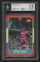 1986-87 Fleer #57 Michael Jordan RC (BGS 7.5)