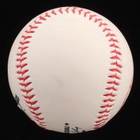 Derek Jeter Signed OML New York Yankees Logo Baseball with High Quality Game-Used Dirt Display Case (PSA LOA & Steiner COA) at PristineAuction.com