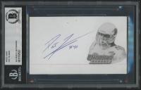 Pat Tillman Signed 3x5 Index Card (BGS Encapsulated)