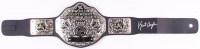 Kurt Angle Signed WWE World Heavyweight Wrestling Championship Belt (Legends COA)