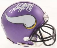 Adrian Peterson Signed Vikings Mini Helmet (Beckett COA) at PristineAuction.com