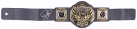 Mick Foley Signed TNA World Heavyweight Wrestling Championship Belt (Legends COA)