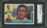 1960 Topps #343 Sandy Koufax (SGC 3)
