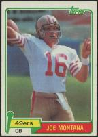 1981 Topps #216 Joe Montana RC