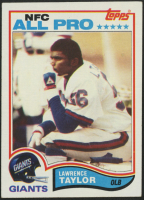 1982 Topps #434 Lawrence Taylor RC