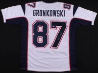 Rob Gronkowski Signed New England Patriots Jersey (Beckett Hologram)