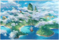 "James Coleman Signed LE ""First Look at Neverland"" 24x36 Giclee On Canvas (Disney Fine Art COA)"