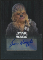 2016 Star Wars The Force Awakens Chrome Autographs #CAPM Peter Mayhew as Chewbacca