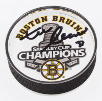 Zdeno Chara Signed 2011 Stanley Cup Boston Bruins Acrylic Hockey Puck (Your Sports Memorabilia Store COA)