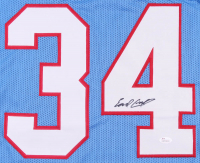 Earl Campbell Signed Houston Oilers Jersey (JSA COA) at PristineAuction.com
