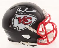 Patrick Mahomes Signed Kansas City Chiefs Matte Black Speed Mini Helmet (JSA COA)